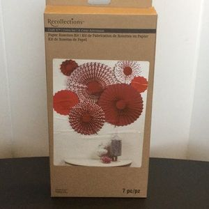 Recollections Paper Rosettes Kit (NWOT)